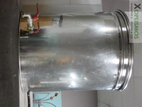 vareli anoxeidoto 2 500x375 - Δοχείο κυλινδρικό ανοξείδωτο