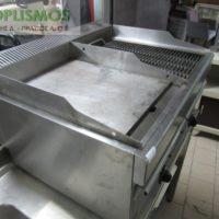 grill aeriou north miso sxara miso plaka 1 200x200 - Γκριλιέρα αερίου διπλή NORTH