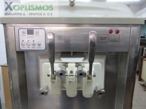 metaxeirismeni mixani pagotou 3 500x375 - Μηχανή παγωτού 3 γεύσεις