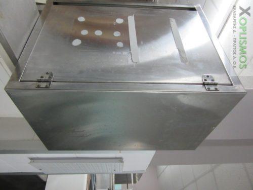 ntoulapi rafiera inox 2 500x375 - Ντουλάπι ανοξείδωτο κλειστό