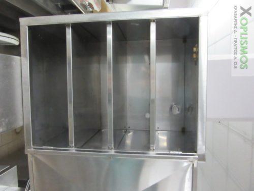 ntoulapi rafiera inox 5 500x375 - Ντουλάπι ανοξείδωτο κλειστό