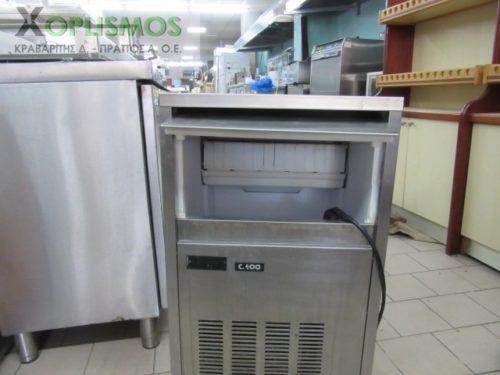 pagomixani masterfrost c400 40kgr 3 500x375 - Παγομηχανή C400 MASTER FROST