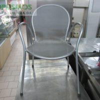 gray metallic chair 1 200x200 - Μεταχειρισμένα Τραπέζια - Καρέκλες