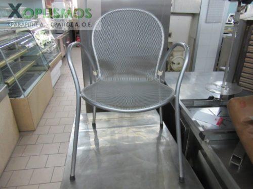 gray metallic chair 1 500x375 - Καρέκλα Ασημί Μεταλλική