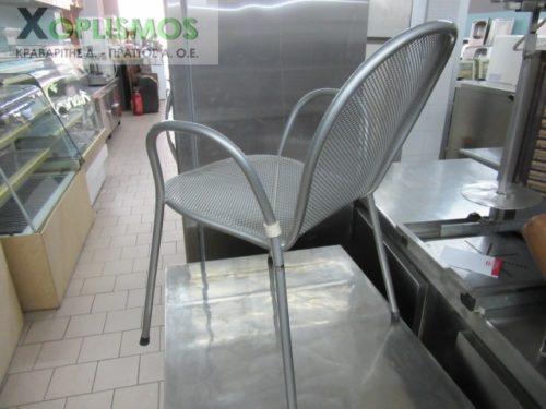 gray metallic chair 4 500x375 - Καρέκλα Ασημί Μεταλλική