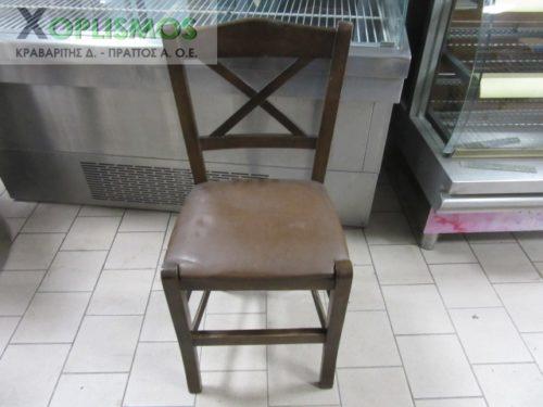 karekla kafe xylini 1 500x375 - Καρέκλα ξύλινη καφέ