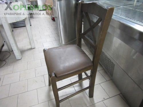karekla kafe xylini 3 500x375 - Καρέκλα ξύλινη καφέ