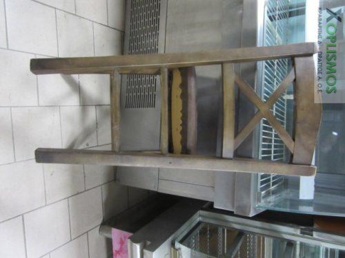 karekla kafe xylini 4 500x375 - Καρέκλα ξύλινη καφέ