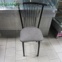 mayri metalliki karekla 1 200x200 - Καρέκλα Μεταλλική Μαύρη
