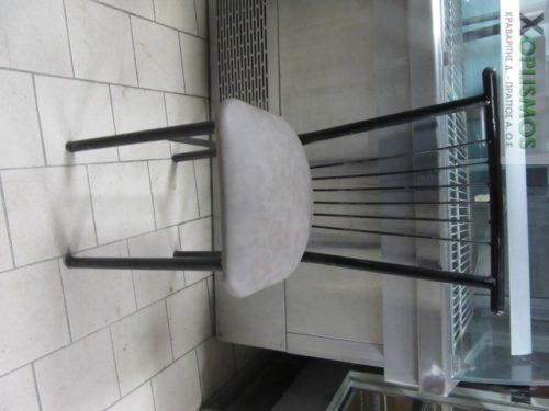 mayri metalliki karekla 2 500x375 - Καρέκλα Μεταλλική Μαύρη