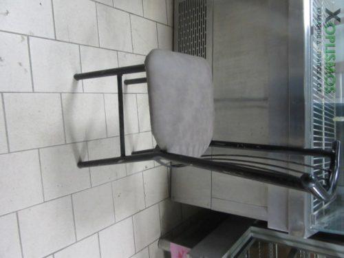mayri metalliki karekla 3 500x375 - Καρέκλα Μεταλλική Μαύρη