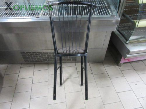 mayri metalliki karekla 5 500x375 - Καρέκλα Μεταλλική Μαύρη