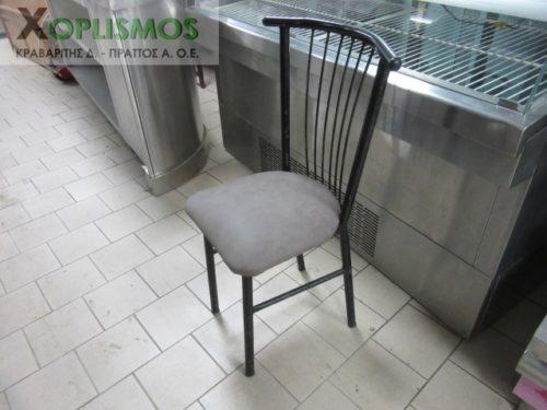 mayri metalliki karekla 6 500x375 - Καρέκλα Μεταλλική Μαύρη