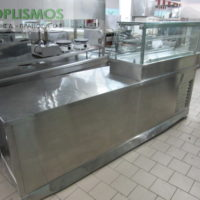 psygeio pagkou me vitrina 1 200x200 - Ψυγείο πάγκος με βιτρίνα
