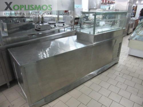 psygeio pagkou me vitrina 1 500x375 - Ψυγείο πάγκος με βιτρίνα